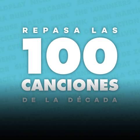 LAS 100 CANCIONES MÁS IMPORTANTES DE LA DÉCADA EN LOS40