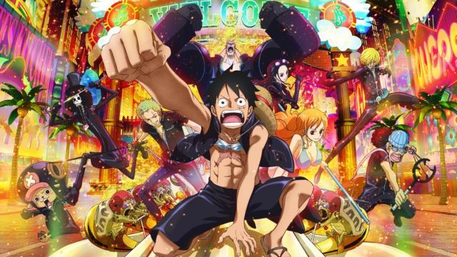 La última de Luffy llega en DVD y BluRay