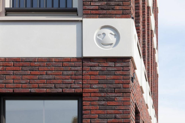 En Holanda es toda una realidad: hay una casa con estas caritas tan divertidas