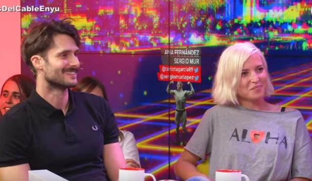 Ana Fernández y Sergio Mur. Joaquín Reyes. Carlos Marco.