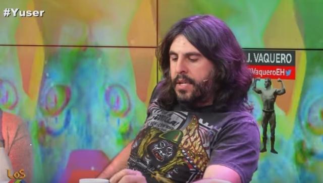 JJ Vaquero. Los compadres. Juan, Damián y Marron.