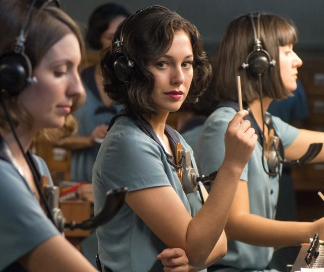 La actriz protagoniza 'Las chicas del cable', la primera serie española de Netflix