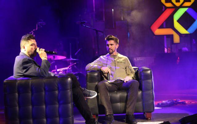 Tony Aguilar entrevistó al artista colombiano antes de su concierto con LOS40 Live Show