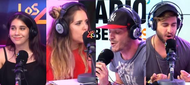 Andrea Compton y María Herrejón VS Antón Lofer y Dante Caro