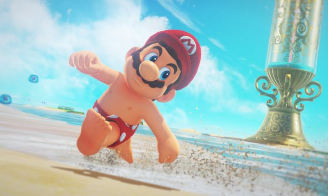 Muchos gamers no se creen que Mario tiene pezones