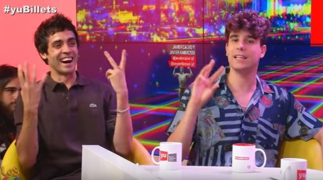 Javier Calvo y Javier Ambrosi. Soy una Pringada. Luis Álvaro.