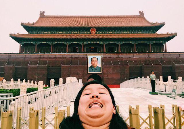 Michelle Liu es su promotora ¡Mira!