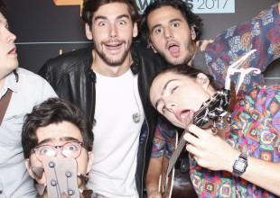 Las fotos más divertidas del fotomatón de LOS40 Music Awards