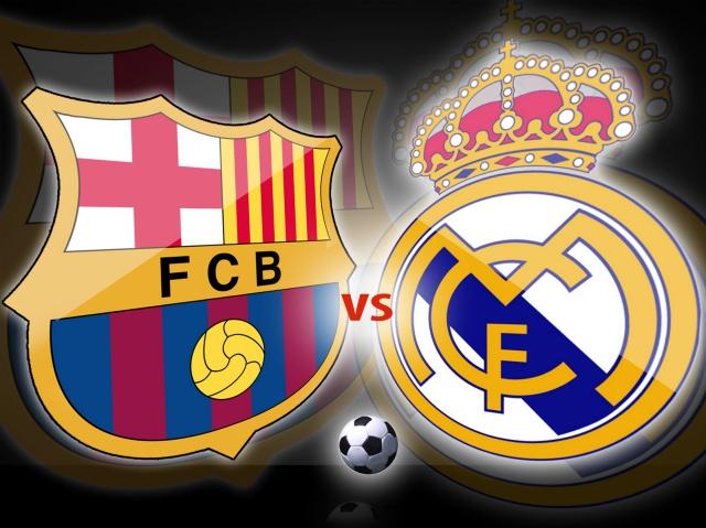 Ella del Barça y él del Madrid y así viven el clásico