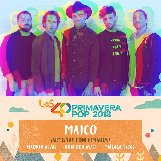 Se apuntan a las tres fechas, en Madrid, Barcelona y Málaga
