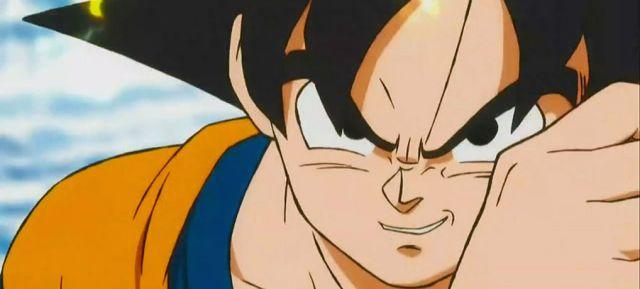 Aroma a clásico y animación de primera para Goku esta vez