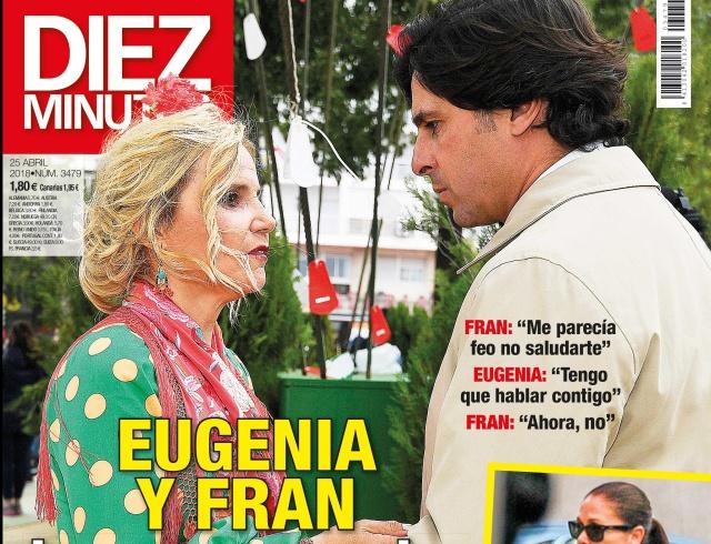 Dos versiones muy distintas sobre la relación entre Fran Rivera y Eugenia Martínez de Irujo