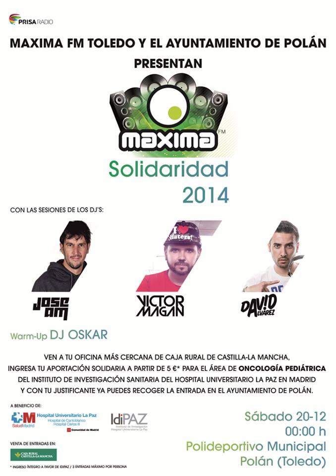 Ya está aquí 'Maxima Solidaridad 2014'