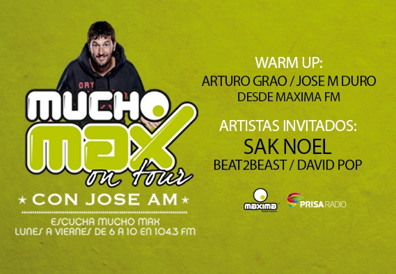 Mucho Max On Tour con Jose AM llega a Madrid!