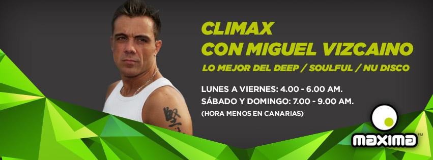 CLIMAX TOP 10 DICIEMBRE 2015