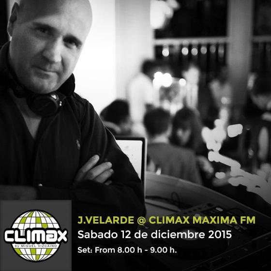 El maestro J. Velarde, sabiduría y pasión en Climax