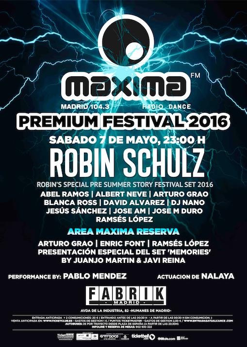 Desvelamos el cartel de Maxima Premium Festival