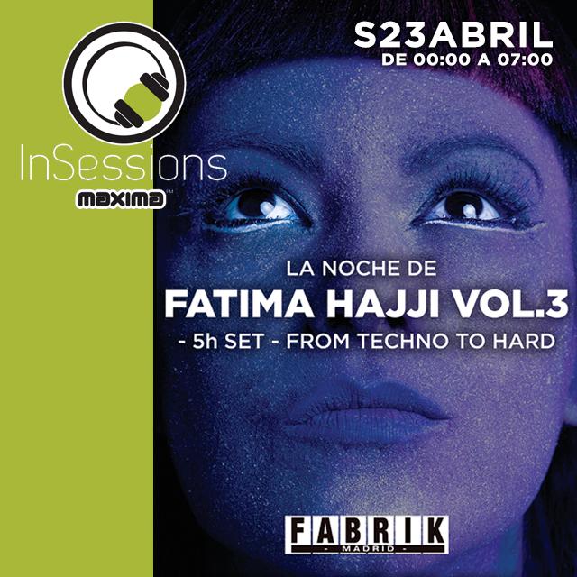 In Sessions: La Noche de Fátima Hajji, Oliver Heldens, House Classics, Play Trance.