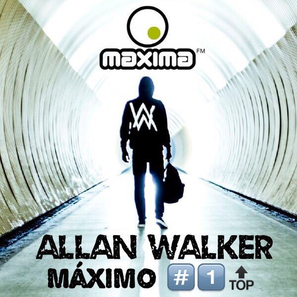 Maxima 51 Chart: Nº1 Alan Walker Ft. Iselin Solheim Faded
