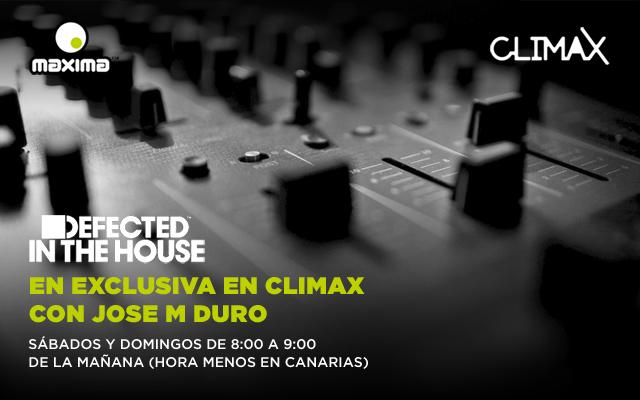 Defected In The House estrena residencia semanal en Climax