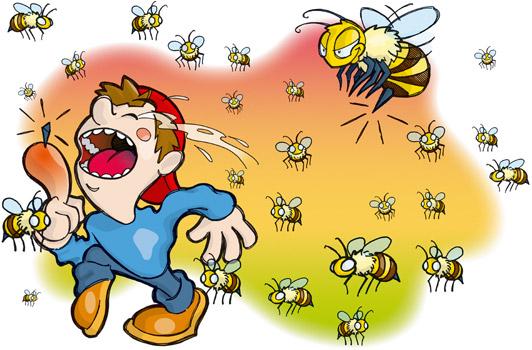 Los Pepes del Zapping y el ataque de las abejas a una reportera