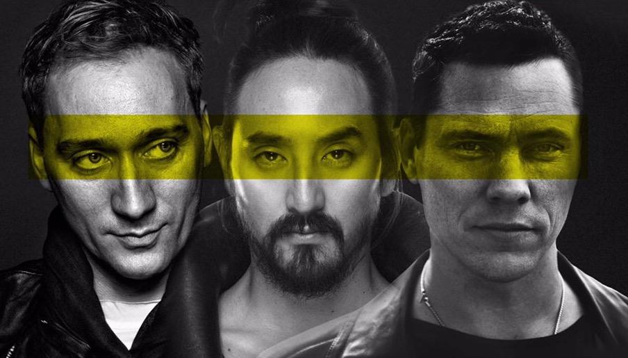 Tiësto, Paul van Dyk y Steve Aoki aterrizan en MaximaFM