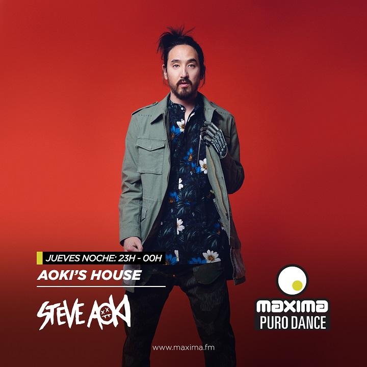 Aoki's House: Vuelve a escuchar el programa 251 de Steve Aoki