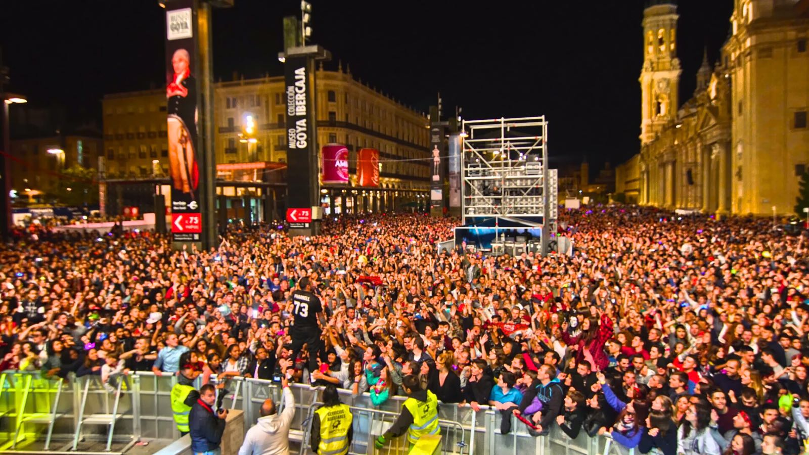 Maxima Independance 2017: ¡En las Fiestas del Pilar en Zaragoza!