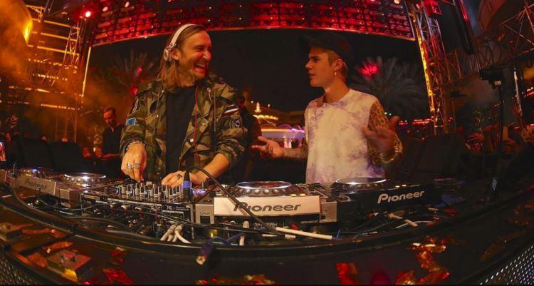 Los ángeles de Justin Bieber y su colaboración con David Guetta