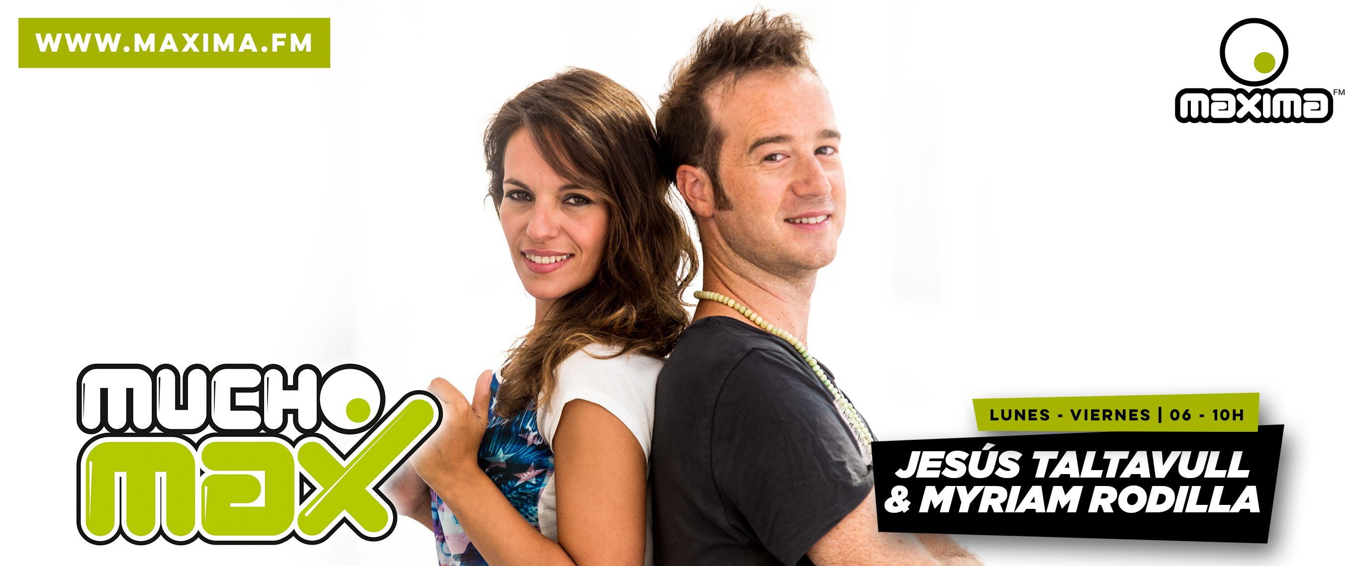 Jesús Taltavull y Myriam Rodilla presentarán Mucho Max la próxima temporada
