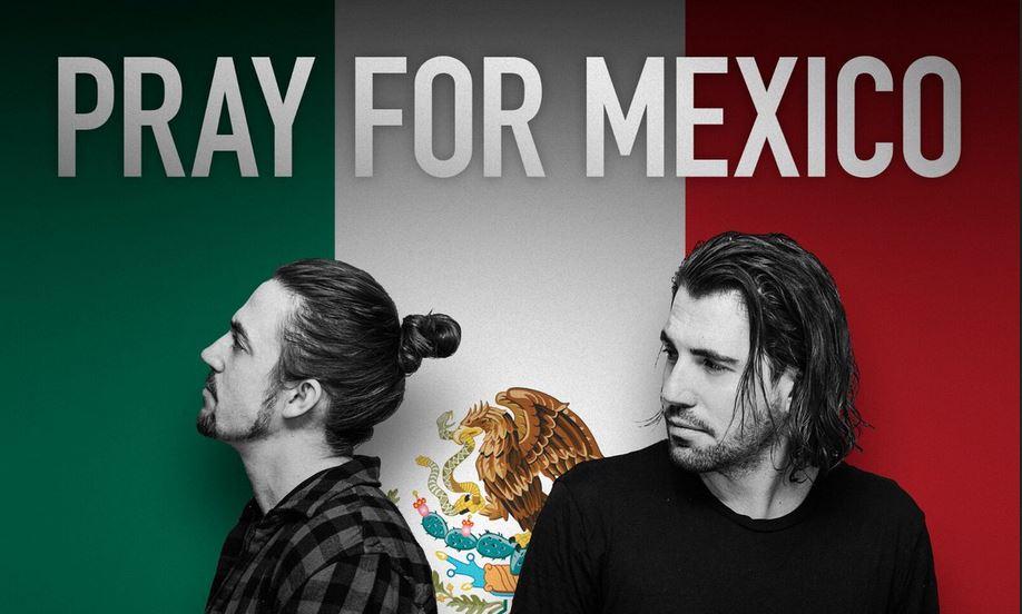 Los DJs se vuelcan con el terremoto de México
