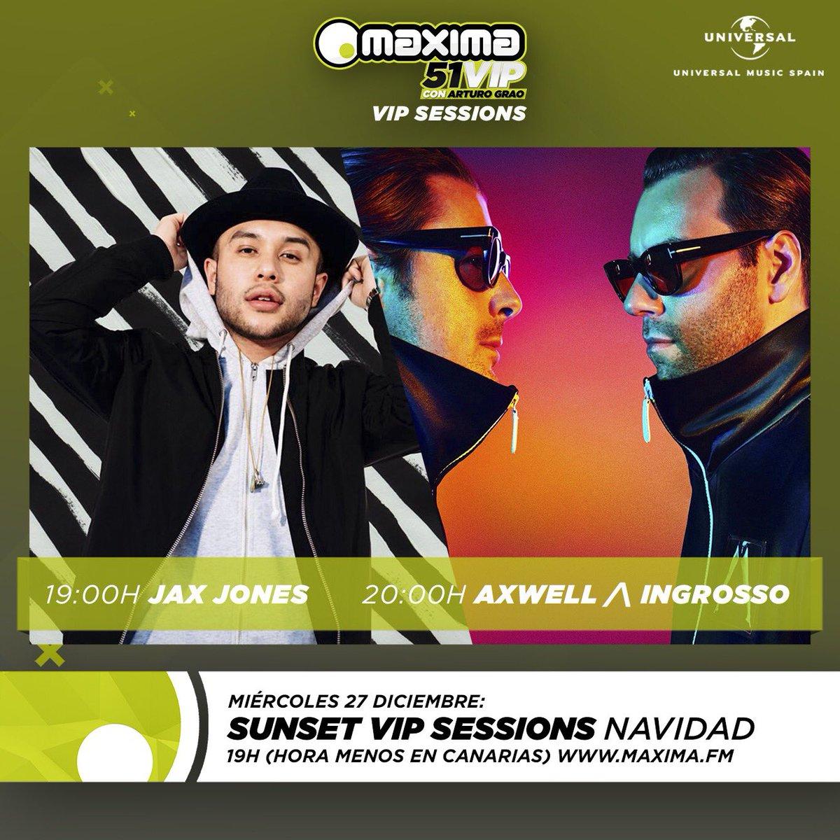 Axwell /\ Ingrosso y Jax Jones aterrizan en Maxima 51 VIP
