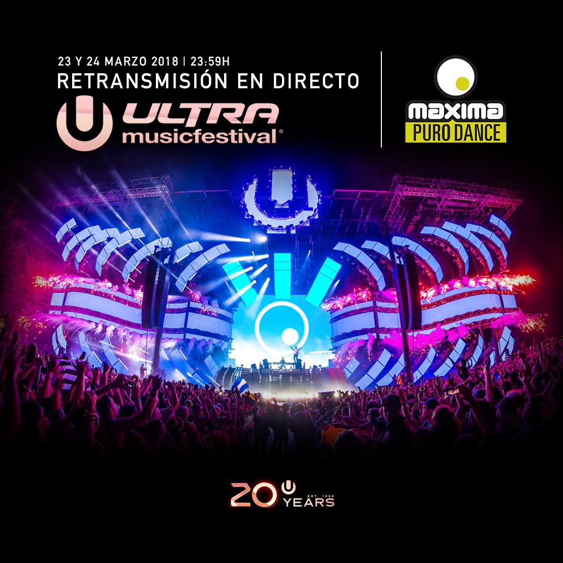 Ultra Music Festival Miami 2018: ¡Síguelo en MaximaFM!