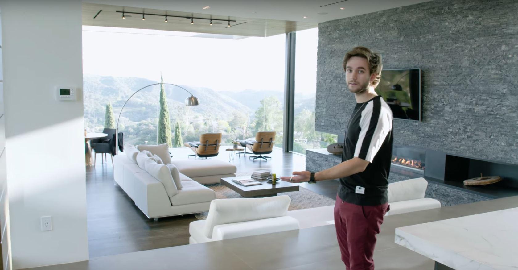 Te vas a querer morir cuando veas la mansión de Zedd