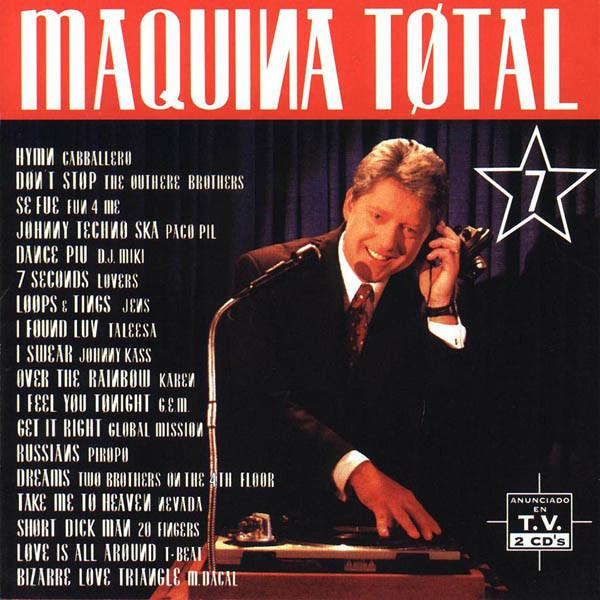 ¿Tuviste el recopilatorio Máquina Total 7? Maxima Reserva te trae su megamix